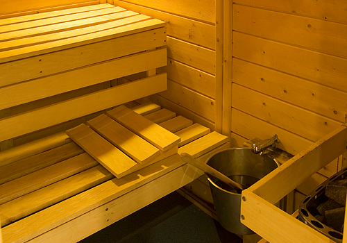RELAX IN OUR SAUNA